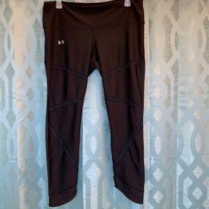 Under Armour women's black athletic pants XL